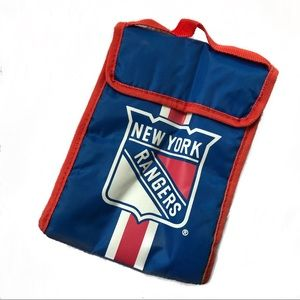 NHL New York Ranger Top Handle Insulated Lunch Bag
